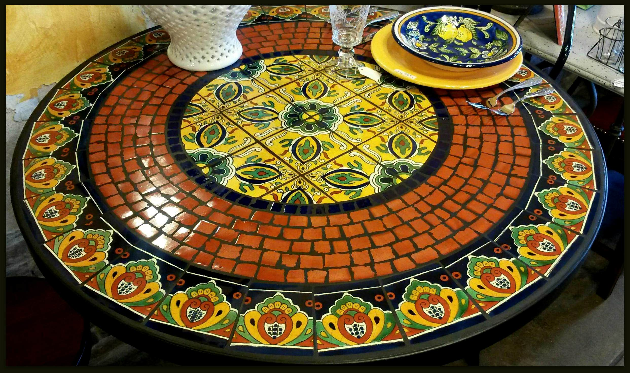 Glass Tables Mosaic Tables