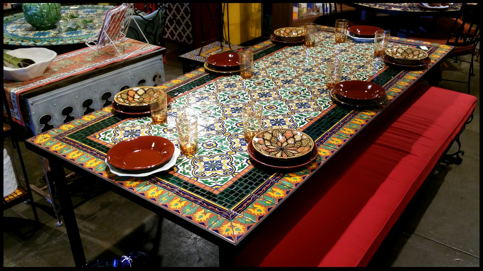 Round Kitchen Table Mexican Design